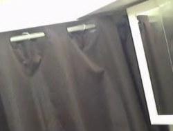 Indian lady filmed taking a shower