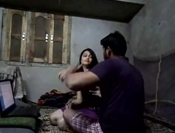 Desi hot babe homemade ardent fuck with facial